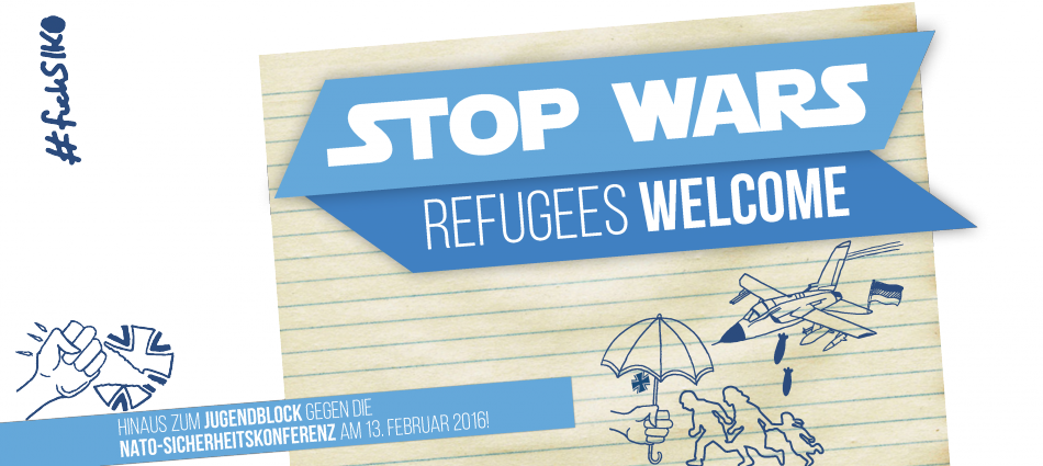 Stop Wars – Refugees Welcome!